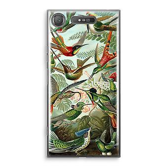 Sony Xperia XZ1 transparente estuche - Haeckel Trochilidae