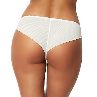 Sans Complexe 319611 Women's Clemence Ivory Solid Colour Lace Underwear Hipster
