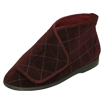 Mens Balmoral Bootie Slippers P7242