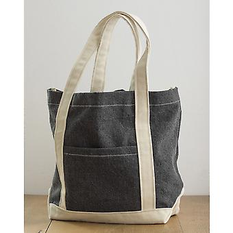 Bags By Jassz Canvas Denim Shopper
