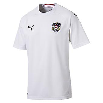 2018-2019 Austria Away Puma Football Shirt