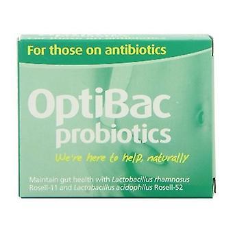 OptiBac los probióticos para los antibióticos