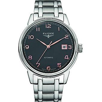 Elysee mens watch of classic vintage master automatic 80546 S