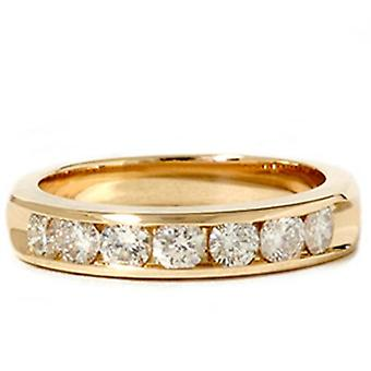 1ct 7-Stone HUGE Diamond Anniversary Wedding Ring
