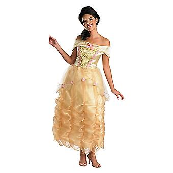 Belle Beauty And Beast Disney Deluxe Story Book Week Women Costume