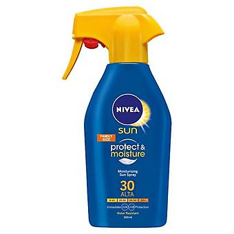 Nivea Sun Protects & Hydrates Spray 300 ml (Cosmetics , Body  , Sun protection)