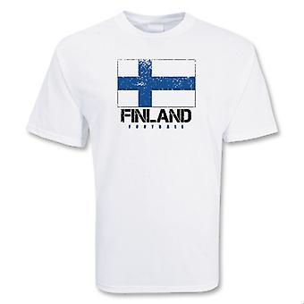 Finnland-Fußball-T-Shirt