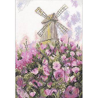 Old Mill Counted Cross Stitch Kit-6
