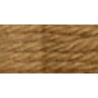 DMC Tapestry & Embroidery Wool 8.8yd-Dark Golden Tan