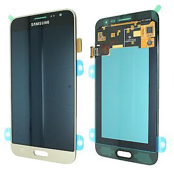 Für Samsung Galaxy J320 LCD-Display - Service Pack - Gold