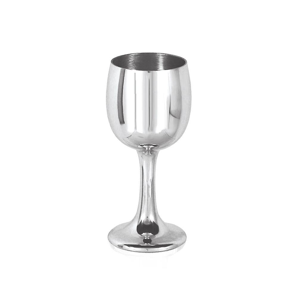 Tulip Small Pewter Goblet - 4.75