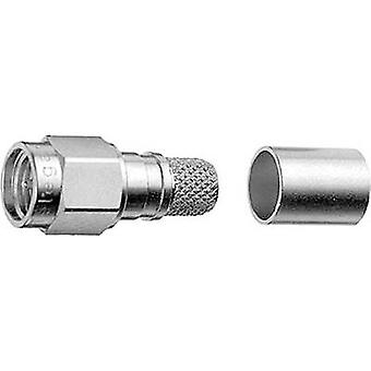 SMA connector Plug, straight 50 Ω Telegärtner J01150A0618 1 pc(s)