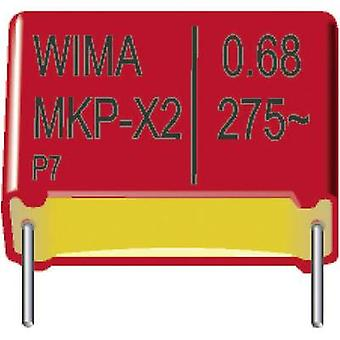 Wima MKX21W31003I00KSSD 1 pc(s) MKP-X2 suppression capacitor Radial lead 0.1 µF 275 V AC 20 % 10 mm (L x W x H) 13 x 8 x 12 mm