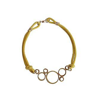 Gemshine - Damen - Armband - Vergoldet - KNOT - BUBBLES