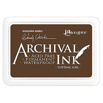 Wendy Vecchi Designer Series Archival Ink Pad-Potting Soil