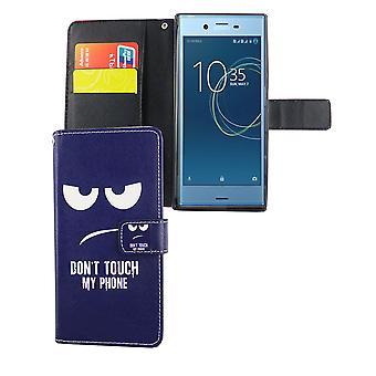 Mobiele zaak zak voor mobiele telefoon Sony Xperia XZs raak niet mijn telefoon