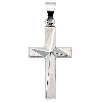 Anhänger Kreuz 375 weissgold LOREDANA Christuskreuz