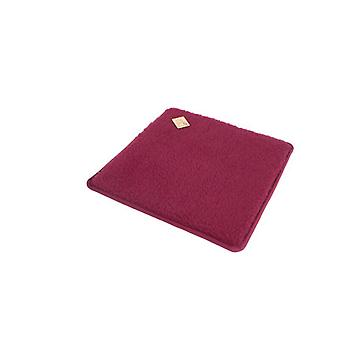 Chair cushions seat cushion square bordeaux 2-Pack 37 x 40 cm