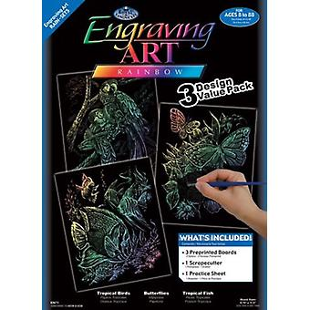Foil Engraving Art Kit Value Pack 8.75