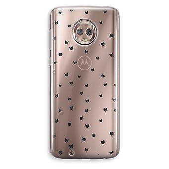Motorola Moto G6 Transparent Case (Soft) - Little cats