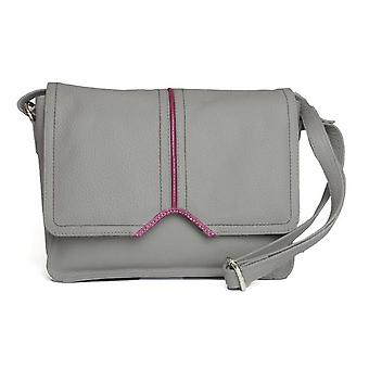 Eastern Counties Leather Womens/Ladies Eloise Handbag With Contrast Piping Detail
