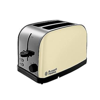 Russell Hobbs 18783 Dorchester 2 Slice Toaster - crème