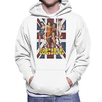 Retro-Spice Girls Spice World Men's Sweatshirt mit Kapuze