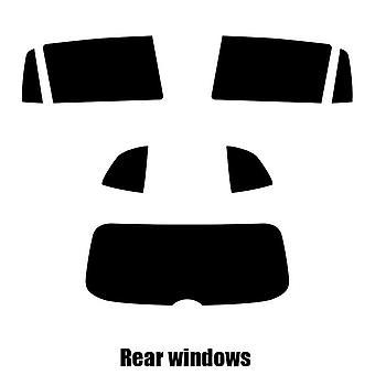 Pre cut Fenster Farbton - VW Tiguan - 2018 und neuere - hinten-windows