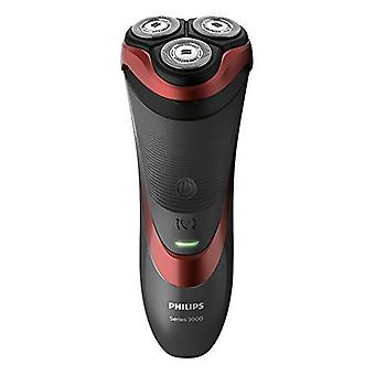 Philips Series 3000 Wet & Dry Men�s Electric Shaver with Pop-up Trimmer (2-Pin UK Bathroom Plug) - S3580/06