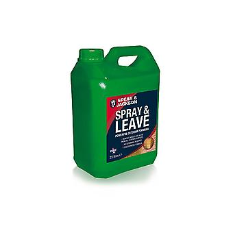 2.5L S&J Spray & Leave Concentrate Mould, Algae Remover and Moss killer