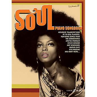 Soul Piano Songbook - (Piano - Vocal - Guitar) - 9780571534494 Book