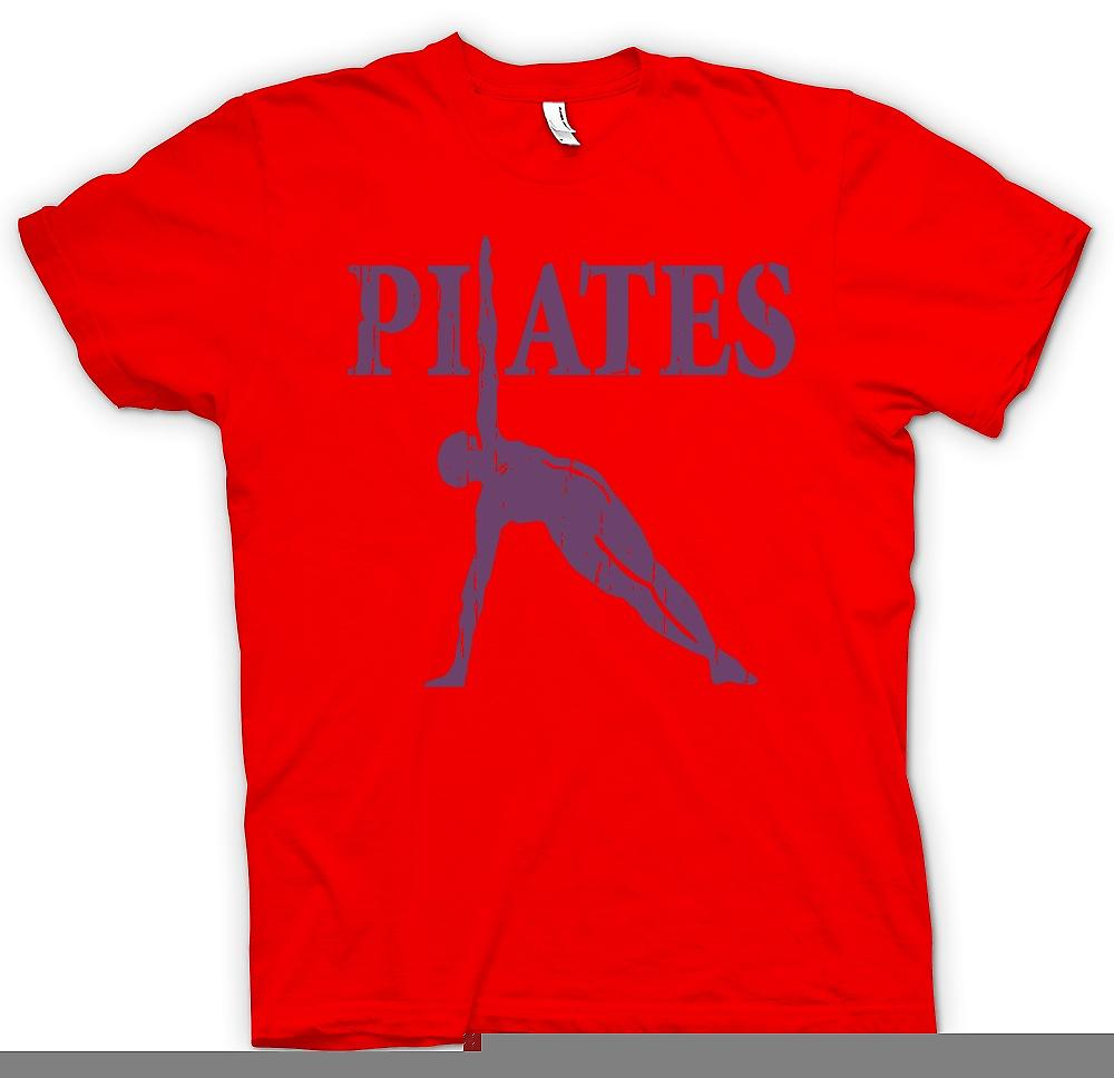 Mens T-shirt - Pilates - Core Fitness formation