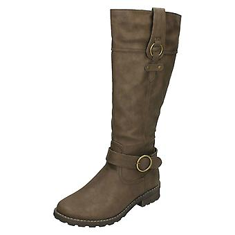Ladies Padders Wide Fit Knee Length Boots Chicago