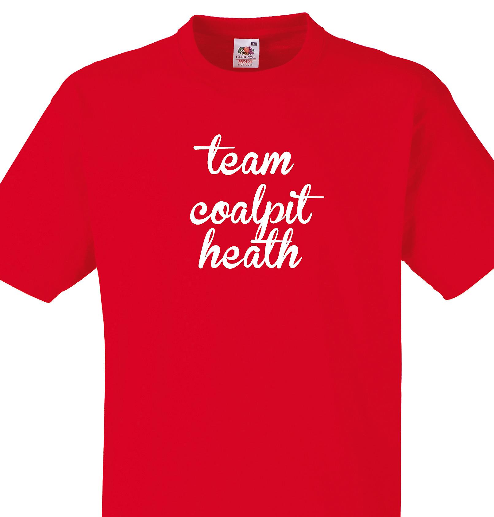 Team Coalpit heath Red T shirt