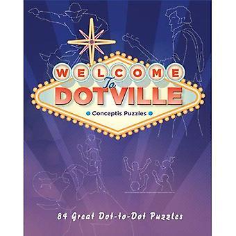 Välkommen till Dotville (Conceptis pussel)