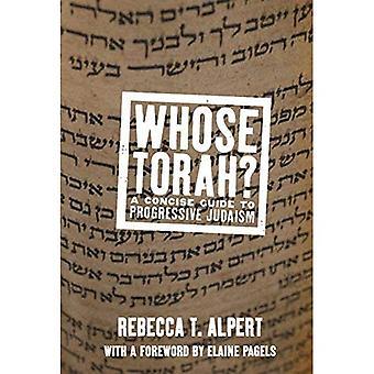 Dont Torah?: un Guide concis pour le judaïsme libéral (ne correspond pas)