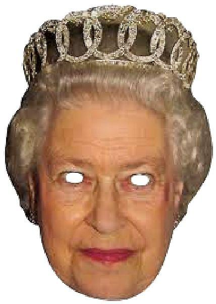 Queen Elizabeth Face Mask