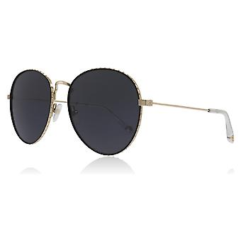 Givenchy GV7089/S J5GIR Gold GV7089/S Round Sunglasses Lens Category 3 Size 60mm