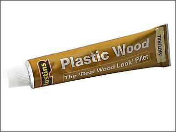 Rustins Plastic Wood Tube Natural 125ml