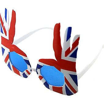Union Jack nosić okulary Union Jack OK