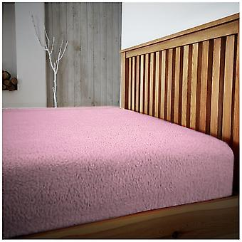 Teddy Fleece Bed Sheets 40cm Extra Deep Fitted Fluffy Warm and Cozy All Sizes