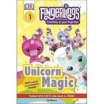 DK lukijat taso 1: Fingerlings: yksisarvinen Magic