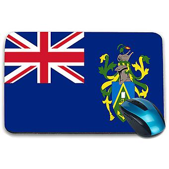 i-Tronixs - Pitcairn Islands Flag Printed Design Non-Slip Rectangular Mouse Mat for Office / Home / Gaming - 0228