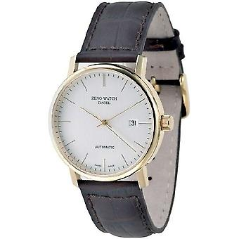 Zeno-watch mens watch Bauhaus automatic 3644-PGR-i3