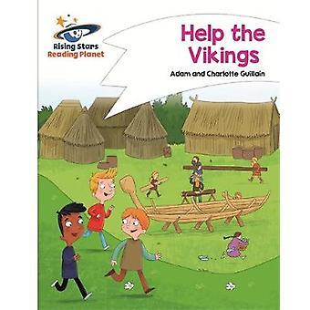 Reading Planet - Help the Vikings - White - Comet Street Kids by Adam