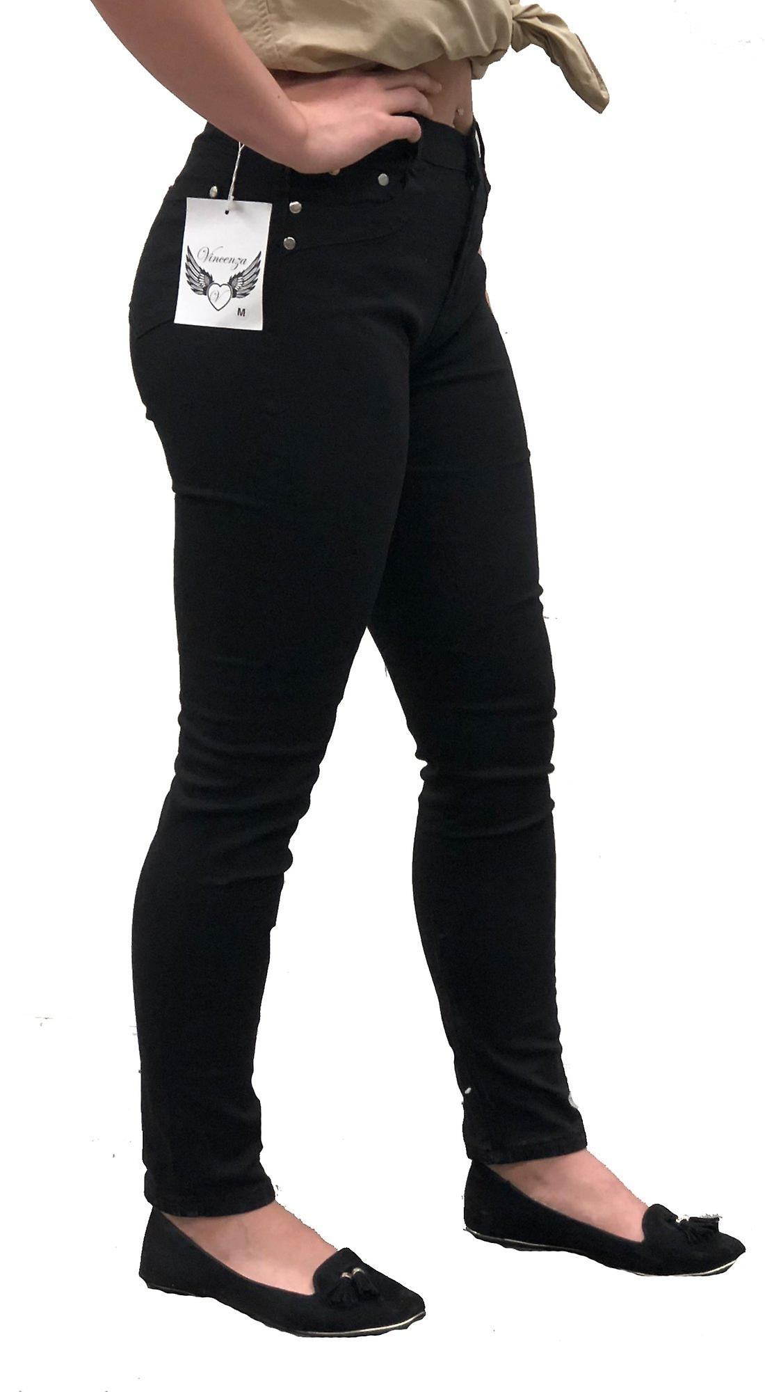 Mid waisted skinny fit denim jeans