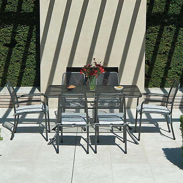 Alexander Rose Portofino 6 Seat Rectangular Armchair Set