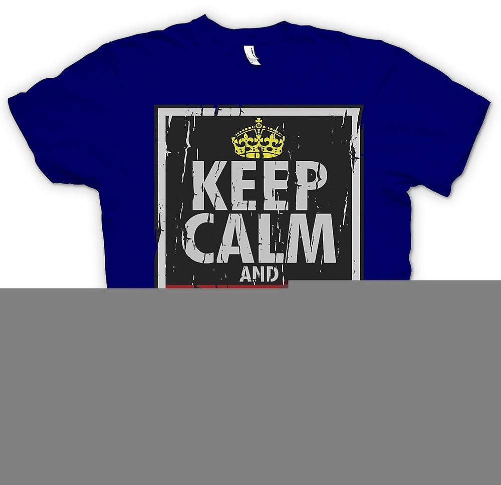 Mens T-shirt - Keep Calm And Obey