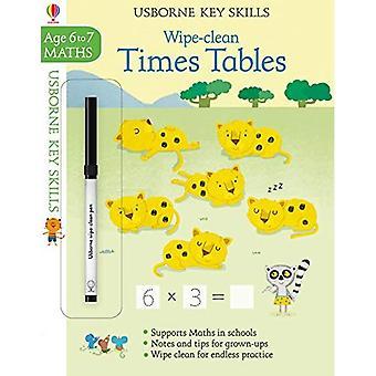 Wipe-Clean Times Tische 6-7