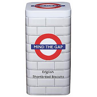 Licensed mind the gap™ traditional english shortbread biscuits (100g)